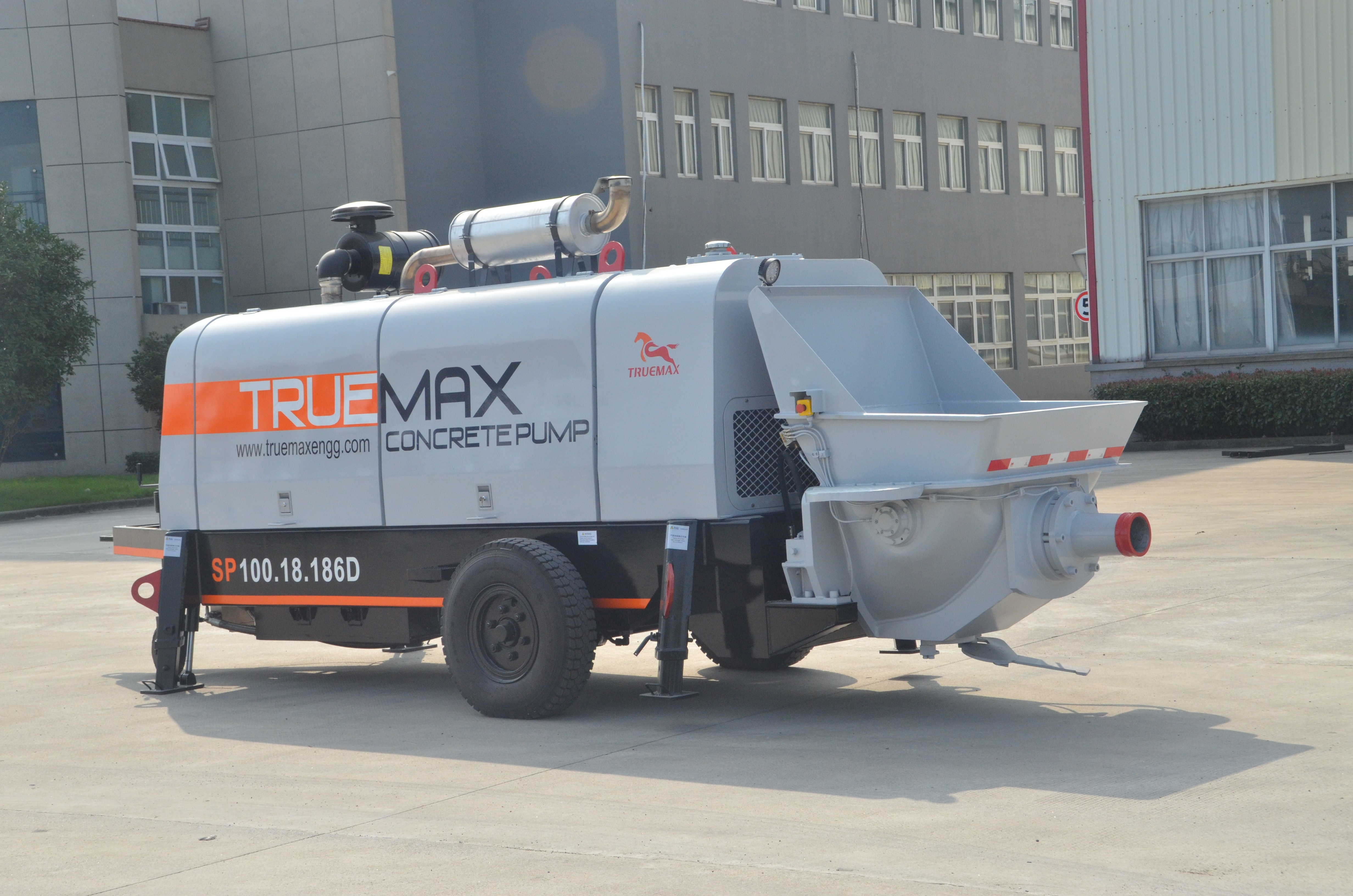 混凝土泵送机