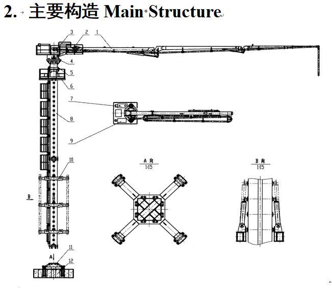 液压布料机结构